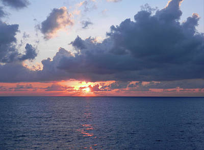 Photograph - November Sunrise Over The Atlantic by Emmy Marie Vickers