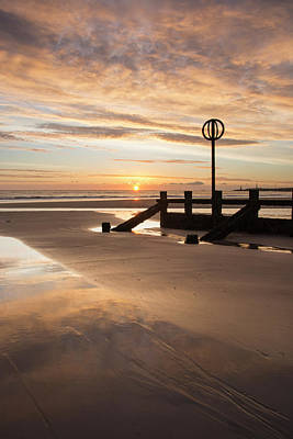 Photograph - November Sunrise - Portrait by Veli Bariskan