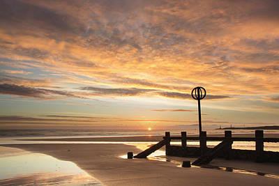 Photograph - November Sunrise by Veli Bariskan
