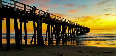 Photograph - November Sunset by John Hembree