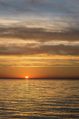 Photograph - November Sunset On Humboldt Bay by Greg Nyquist