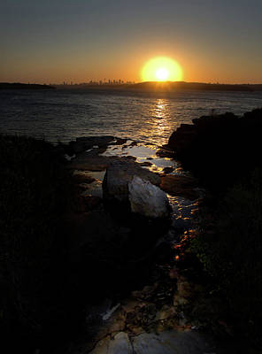 Photograph - November Sydney Sunset by Miroslava Jurcik