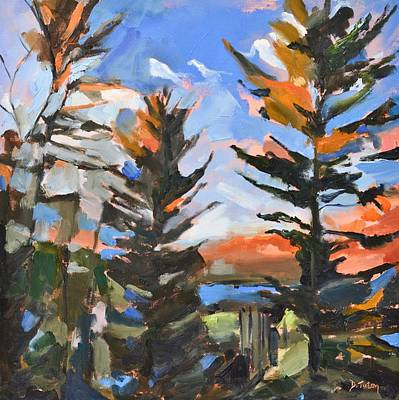 Painting - November View From Liza Jane's by Donna Tuten