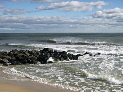 Photograph - November Wind by Ellen Paull
