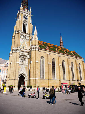 Photograph - Novi Sad Cathedral by Rae Tucker