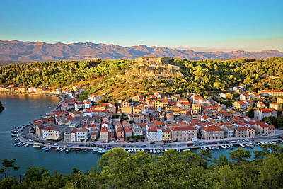 Photograph - Novigrad Dalmatinski Waterfront And Bay View by Brch Photography