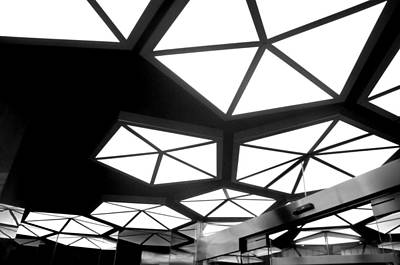 Modern Lighting Photograph - Novotel Ceiling by Diana Angstadt