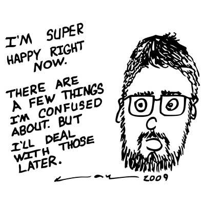Now Comic Art Print by Karl Addison