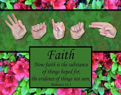 Now Faith Art Print