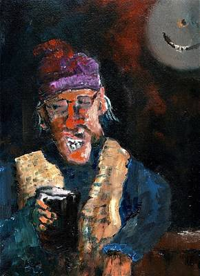 Painting - Now I'm Tellin Ye Dis  by Val Byrne