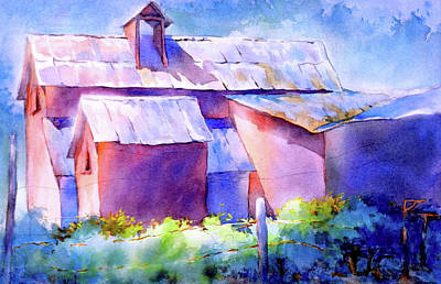 Winery Painting - Now It's A Winery, No. 2				 by Virgil Carter