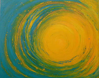 Painting - Now by Kathryn Rone