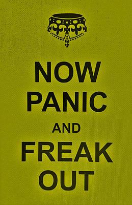 British Propaganda Digital Art - Now Panic 28 by Rob Hans