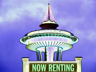 Photograph - Now Renting by Tim Allen