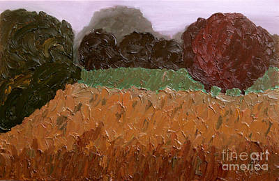 Earth Tones Painting - Nowhere Known - Sold by Paul Anderson
