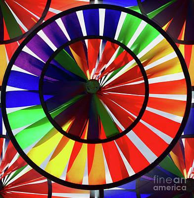 Art Print featuring the photograph noWind wheel by Luc Van de Steeg
