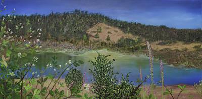 Painting - Noyo Serenity by Stephen Daddona