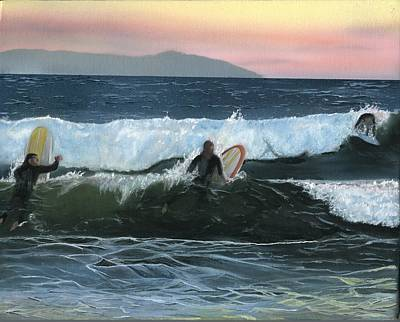 Painting - Npb Surf by Charles Parks
