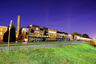 Photograph - Ns 155 @ Night  by Joseph C Hinson Photography