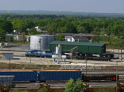 Photograph - Ns Andrews Yard From Above 2 by Joseph C Hinson Photography