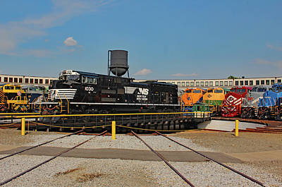 Photograph - Ns Heritage Locomotives Family Photographs 1030 Day 11 by Joseph C Hinson Photography