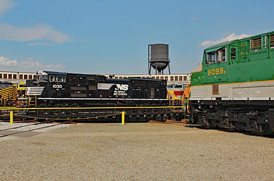 Photograph - Ns Heritage Locomotives Family Photographs 1030 Day 19 by Joseph C Hinson Photography