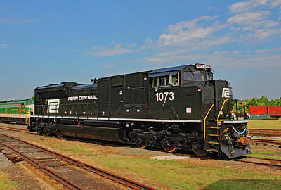Photograph - Ns Heritage Locomotives Family Photographs 1073 Day 10 by Joseph C Hinson Photography
