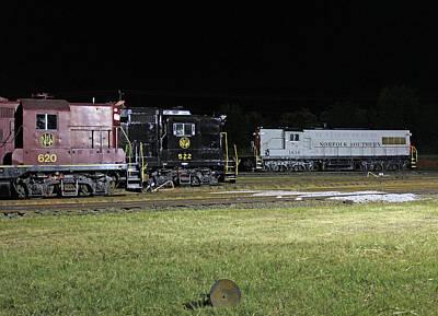Photograph - Ns Heritage Locomotives Family Photographs 34 by Joseph C Hinson Photography