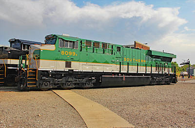 Photograph - Ns Heritage Locomotives Family Photographs 8099 Day 42 by Joseph C Hinson Photography