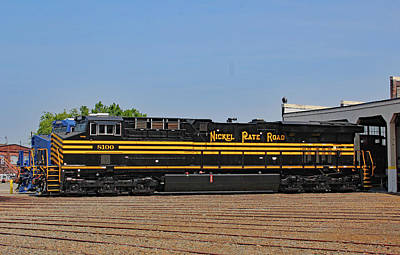 Photograph - Ns Heritage Locomotives Family Photographs 8100 Day 1 by Joseph C Hinson Photography
