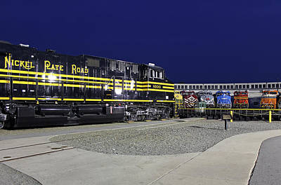 Photograph - Ns Heritage Locomotives Family Photographs 8100 by Joseph C Hinson Photography