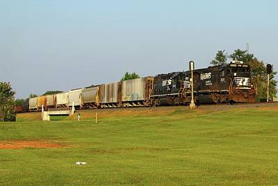 Photograph - Ns Local Freight Out Of Rock Hill by Joseph C Hinson Photography