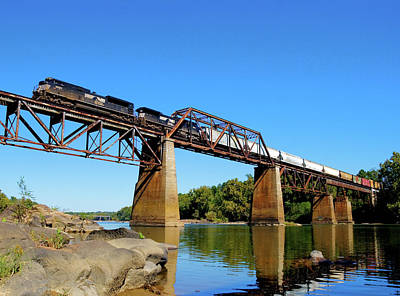 Photograph - Ns Over The Congaree 5 by Joseph C Hinson Photography