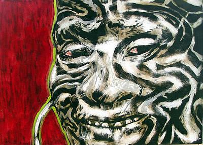 Nuba Paint Art Print by Chester Elmore