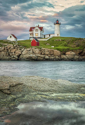 Photograph - Nubble Light by Brian Caldwell