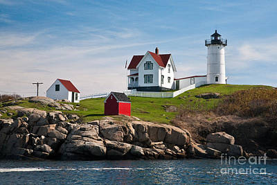 Photograph - Nubble Light by Gene Healy