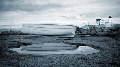 Photograph - Nubble Light High And Dry by Luke Moore