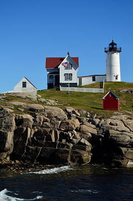 Photograph - Nubble Lighthouse 2 by Richard Ortolano
