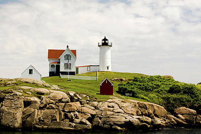 Photograph - Nubble Light House  by Betty Pauwels