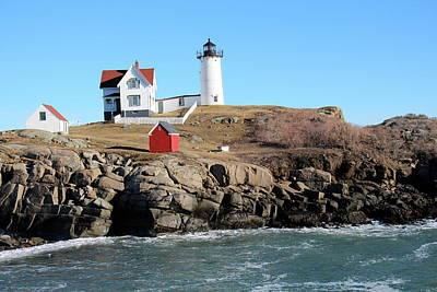 Photograph - Nubble Light House  by Jeffery Akerson