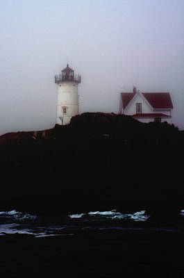 Photograph - Nubble Light House by Richard Ortolano