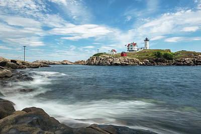 Photograph - Nubble Light II by Sharon Seaward