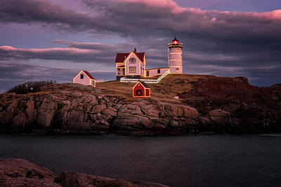 Photograph - Nubble Light II by Tom Singleton
