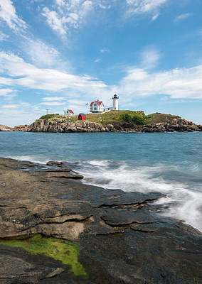 Photograph - Nubble Light IIi by Sharon Seaward