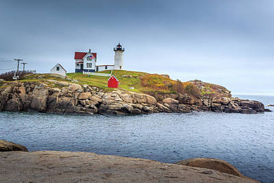 Photograph - Nubble Lighthouse by Doug Camara