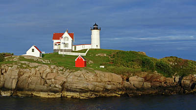 Photograph - Nubble Lighthouse by Ginger Wakem