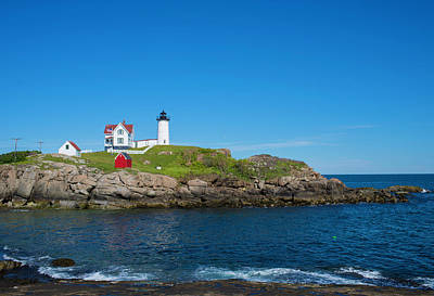 Photograph - Nubble Lighthouse by John Forde