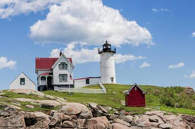 Cape Neddick Light Station Photograph - Nubble Lighthouse by Laura Bode
