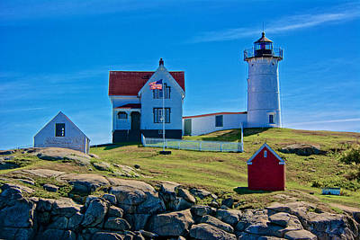Photograph - Nubble Lighthouse, Maine I by Kathi Isserman