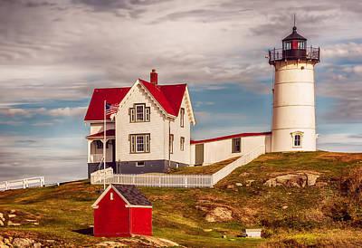 Photograph - Nubble Lighthouse by Mick Burkey